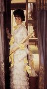 James Tissot A Portrait (Miss Lloyd) (nn01) oil painting picture wholesale