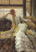 James Tissot July (Specimen of A Portrait) (nn01) oil painting picture wholesale