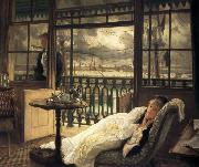 James Tissot A Passing Storm (nn01) oil painting picture wholesale