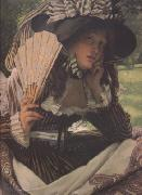 James Tissot Jeune Femme en Bateau (Young Lady in a Boat) (nn01) oil painting picture wholesale