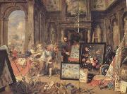 Jan Van Kessel Europe (centre panel) (mk14) oil painting artist