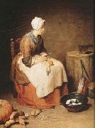 Jean Baptiste Simeon Chardin The Kitchen Maid (mk08) oil painting picture wholesale