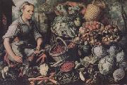 Joachim Beuckelaer Market Woman with Fruit,Vegetables and Poultry (mk14) oil painting picture wholesale