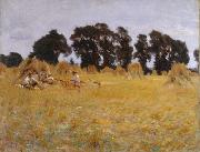 John Singer Sargent Reapers Resting in a Wheatfield (mk18) oil painting picture wholesale
