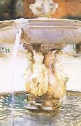 John Singer Sargent Spanish Fountain (mk18) oil painting picture wholesale