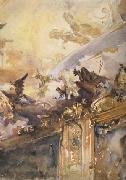 John Singer Sargent Tiepolo Ceiling,Milan (mk18) oil painting picture wholesale