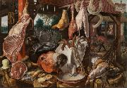 Pieter Aertsen Butcher's Stall (mk14) oil painting picture wholesale