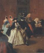 Pietro Longhi Al Ridotto (mk21) oil painting picture wholesale