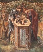 Sir Edward Coley Burne-Jones The Baleful Head (mk19) oil painting picture wholesale