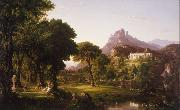 Thomas Cole Dream of Arcadia (mk13) oil painting picture wholesale