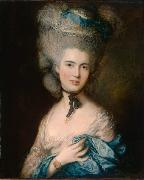 Thomas Gainsborough Woman in Blue (mk08) oil painting picture wholesale