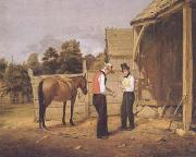 William Sidney Mount The Horse Trade (mk13) oil painting picture wholesale