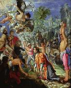 Adam  Elsheimer The Stoning of Saint Stephen (nn03) Germany oil painting reproduction