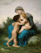 Adolphe William Bouguereau Fraternal Love (mk26) oil painting picture wholesale