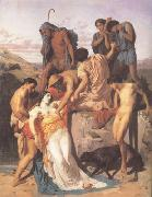 Adolphe William Bouguereau Zenobia.found by shepherds on the Banks of the Araxes  (mk26) oil painting picture wholesale