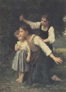 Adolphe William Bouguereau Dans le bois (mk26) oil painting picture wholesale