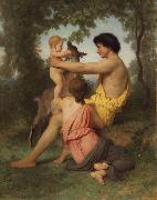 Adolphe William Bouguereau Idyll:Family from Antiquity (nn04) oil painting picture wholesale