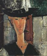 Amedeo Modigliani Madam Pompadour (mk39) oil painting reproduction