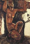 Amedeo Modigliani Caryatid (mk39) oil painting picture wholesale