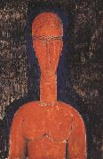 Amedeo Modigliani Red Bust (mk39) oil painting picture wholesale