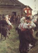 Anders Zorn Midsummer Dance (nn02) oil painting picture wholesale