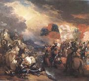 Benjamin West Edward III Crossing the Somme (mk25) oil painting picture wholesale