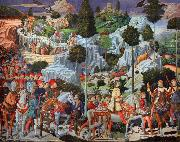 Benozzo Gozzoli The Journey of the Magi (nn03) oil painting picture wholesale