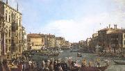 Canaletto A Regatta on the Grand Canal (mk25) oil painting picture wholesale