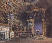 Charles Wild The King's Audience Chamber (mk25) oil