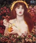 Dante Gabriel Rossetti Venus Verticordia (mk28) oil painting picture wholesale
