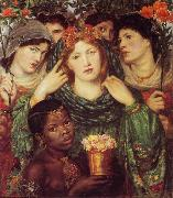 Dante Gabriel Rossetti The Bride (mk28) oil painting picture wholesale