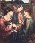Dante Gabriel Rossetti The Bower Meadow (mk28) oil painting picture wholesale