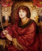 Dante Gabriel Rossetti Sibylla Palmifera (mk28) oil painting picture wholesale