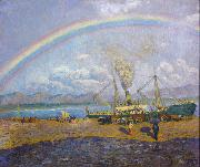 Dario de Regoyos The Rainbow (nn02) oil painting picture wholesale