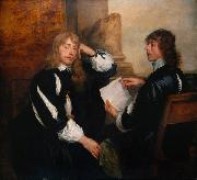 Dyck, Anthony van Thomas Killigrew and William (mk25) Germany oil painting reproduction