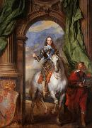 Dyck, Anthony van Charles Iwith Monsieur de St Antoine (mk25) oil painting picture wholesale
