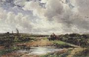 Edmund Morison Wimperis The Approaching Storm (mk37) oil