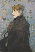 Edouard Manet L'automne Portrait de Mery Laurent (mk40) oil painting reproduction