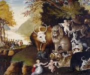 Edward Hicks The Peaceable Kingdom (nn03) oil