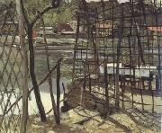 Eilif Peterssen Bas Meudon Landscape (nn02) oil painting picture wholesale