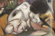 Franz Marc Pigs (mk34) oil painting picture wholesale