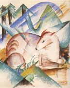 Franz Marc Red Deer (mk34) oil painting picture wholesale