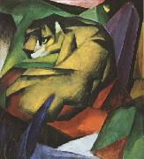 Franz Marc The Tiger (mk34) oil painting picture wholesale