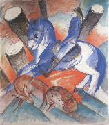 Franz Marc Saint julian i  hospitalier (mk34) oil painting picture wholesale