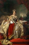 Franz Xaver Winterhalter Queen Victoria (mk25) oil painting picture wholesale