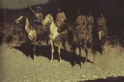 Frederic Remington Who Comes There (mk43) oil painting picture wholesale
