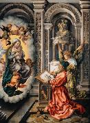 GOSSAERT, Jan (Mabuse) Saint Luke Painting the Virgin (nn03) oil painting picture wholesale