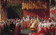 George Hayter The Coronation of Queen Victoria (mk25) oil painting picture wholesale
