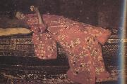 George Hendrik Breitner Girl in Red in Red Kimono (nn02) oil painting picture wholesale