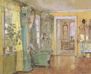 Gerhard Munthe Antechamber in the Artist's Home (nn02) oil painting artist